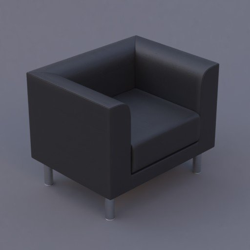 Thumbnail: favara I armchair black