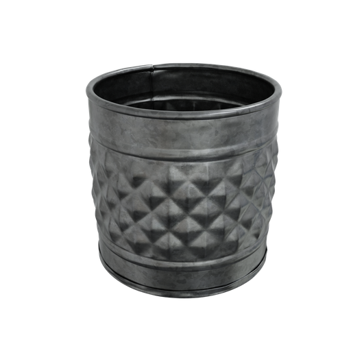 Thumbnail: Vase medium galvanized metal