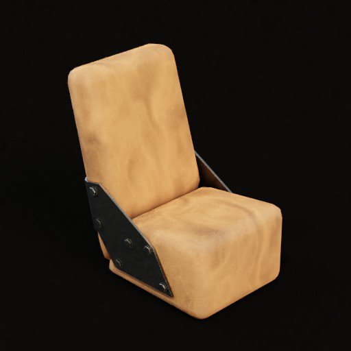 Thumbnail: Stylised chair
