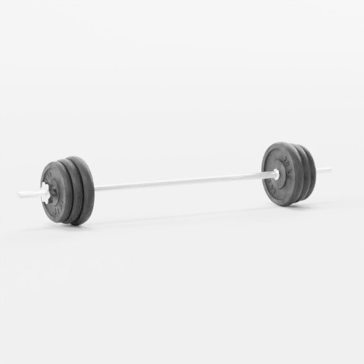 Thumbnail: Rod with weights - 100 kg