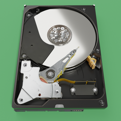 Thumbnail: HDD 3.5 inches Western Digital WD5000AAVS
