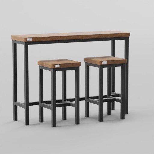 Thumbnail: Informa Table Bar Set 150x40x105
