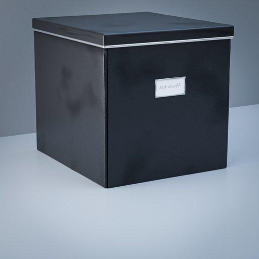 Thumbnail: Black IKEA like storage box