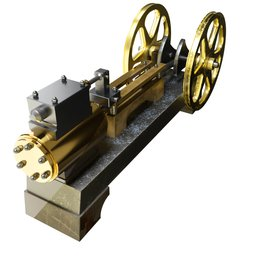 Thumbnail: Steam Engine 01