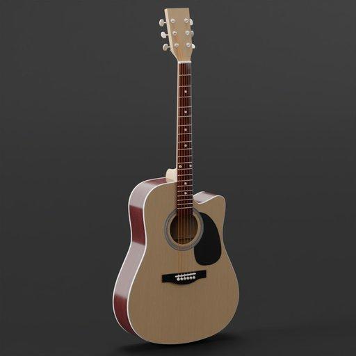 Thumbnail: Detailed Acoustic Guitar
