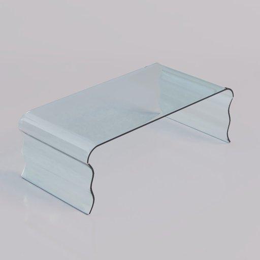 Thumbnail: Coffee Table glass 4