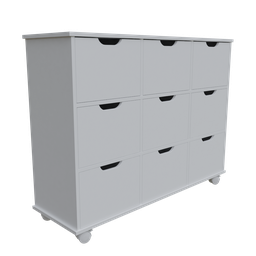 Thumbnail: Chest of drawers 9 niche organizers