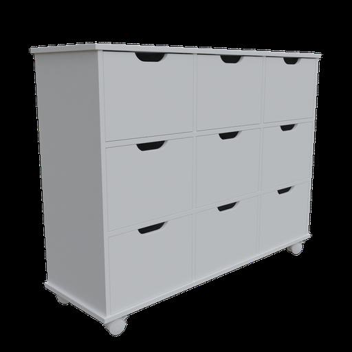 Chest of drawers 9 niche organizers