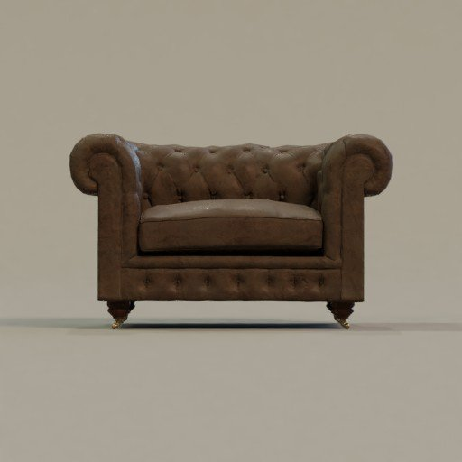 Thumbnail: Chesterfield Armchair
