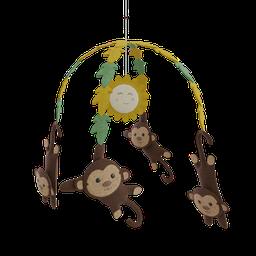 Thumbnail: Mobile with monkey