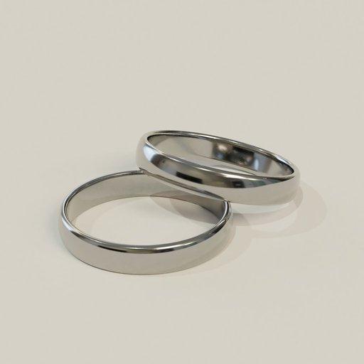 Thumbnail: Silver rings