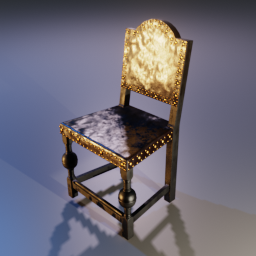 Medieval Dining Chair 01