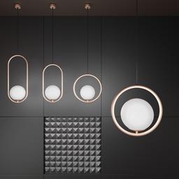 Thumbnail: Bauhaus Circle Lamp Small