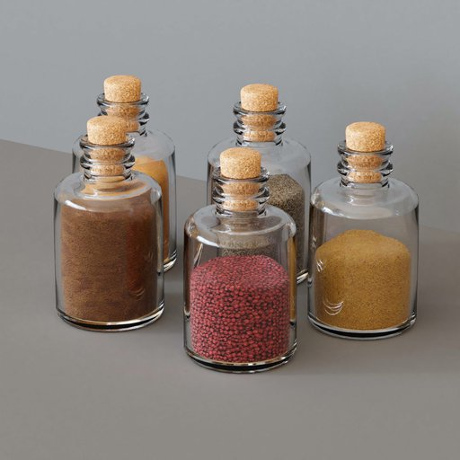 Thumbnail: KITCHEN SET 5 - Glass Container