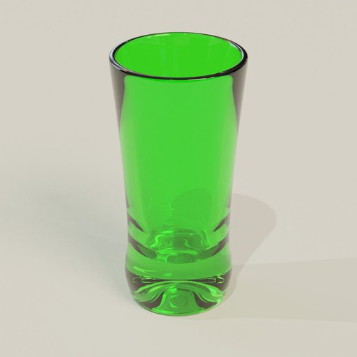Thumbnail: Vodka glass green