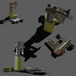 Thumbnail: CZ801Gun scifi