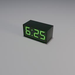 Thumbnail: Digital Clock