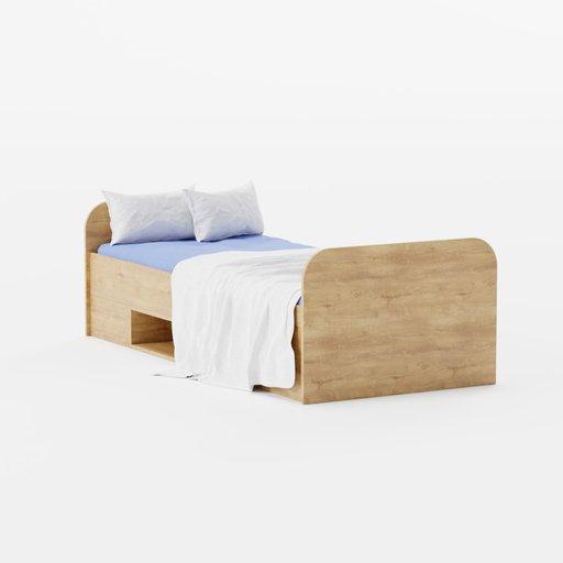 Thumbnail: Kid's bed