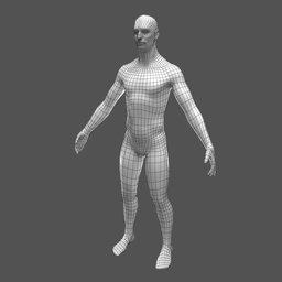 Thumbnail: Male base mesh