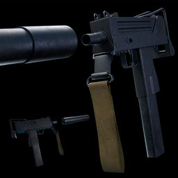 Thumbnail: Ingram MAC-10 SMG
