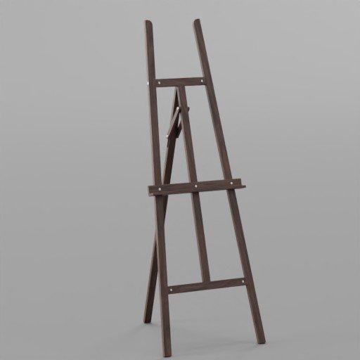 Thumbnail: Brown Art stand
