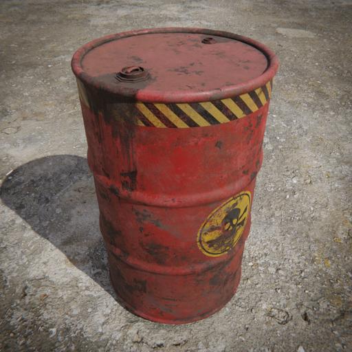 Toxic Barrel Red