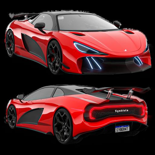 Thumbnail: Symbiote Supercar Concept