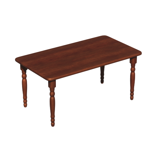 Thumbnail: Solid Wood Dining Table