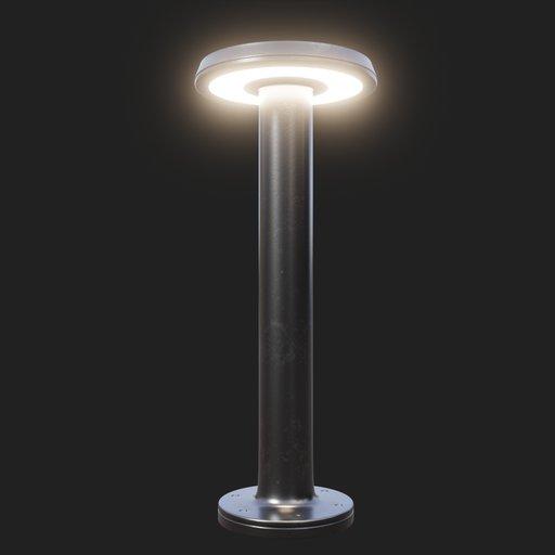 Thumbnail: Modern Street Lamp (short) #04