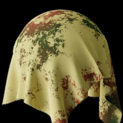 Procedural Dirty Fabric