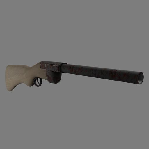 Stylised gun
