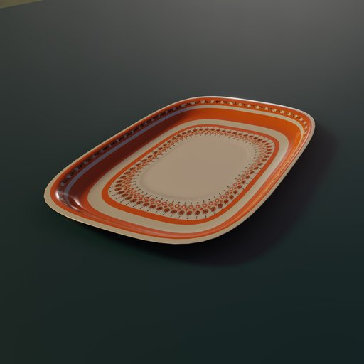 Thumbnail: Arebian tea set ( serving tray)