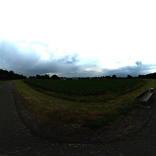 HDRI open road