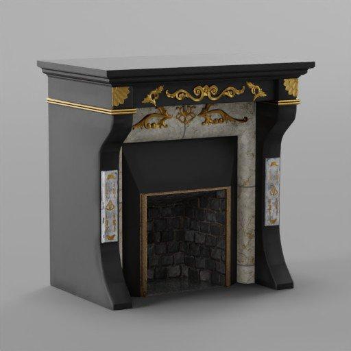 Thumbnail: Modern Fireplace