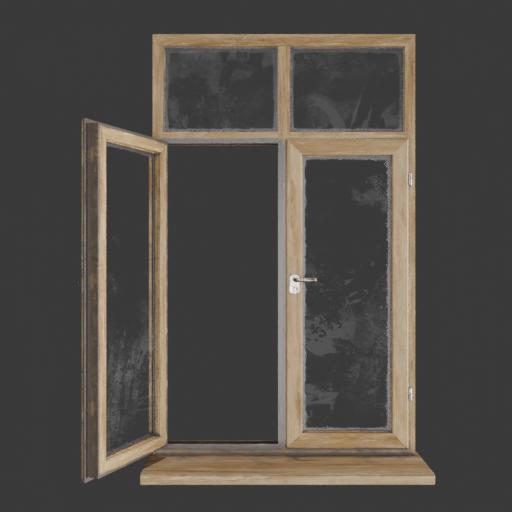 Basic Wood window
