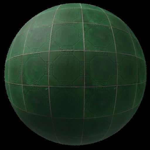 Thumbnail: Green tiles