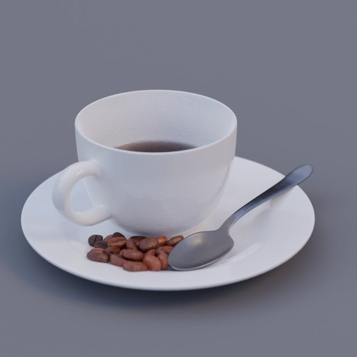 Thumbnail: coffee cup set half empty