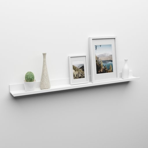 Thumbnail: Picture and Decoration Shelf - IKEA Style