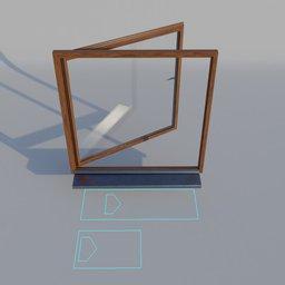 Thumbnail: WIndow Wood Frame