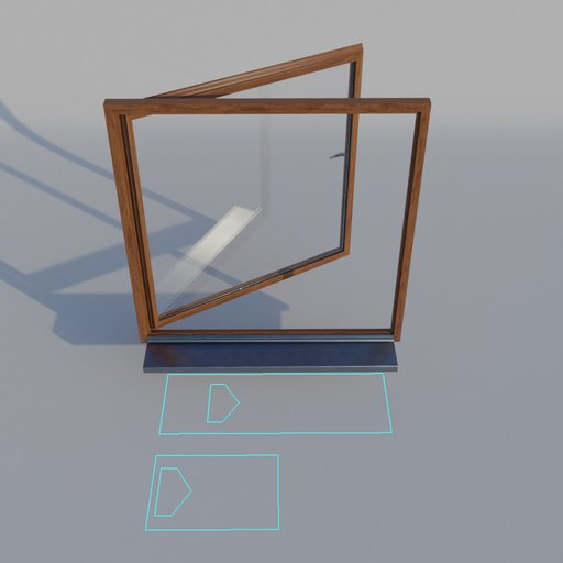 Thumbnail: WIndow Wood Frame