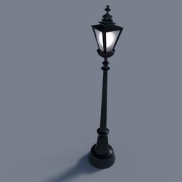 Thumbnail: lamp post