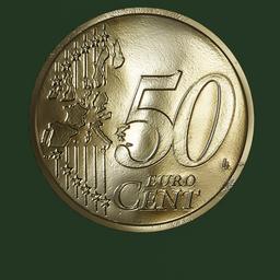 Thumbnail: Euro Coin, 50 cent