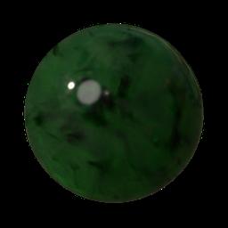 Thumbnail: Jade green + black