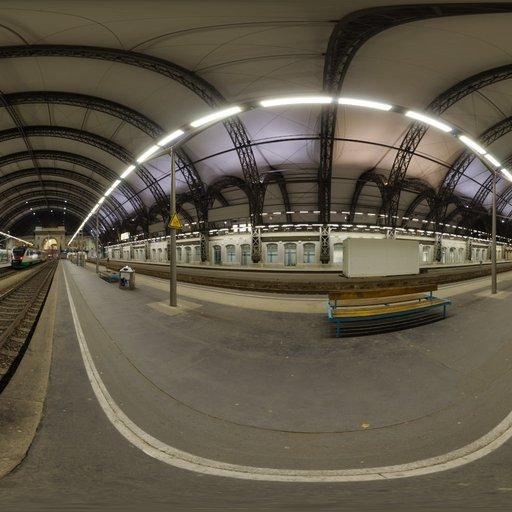 Dresden Station Night