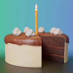 Thumbnail: Birthday cake Booleans version