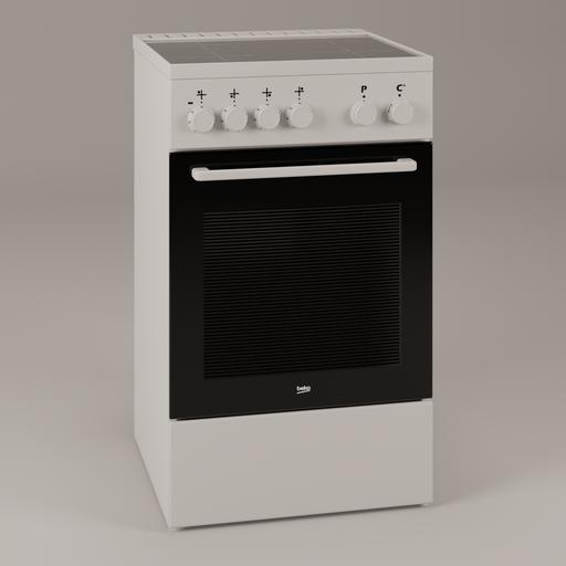 Cooker - Beko FSS57000GW