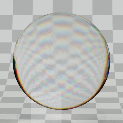 Thumbnail: Refractive stylized glass