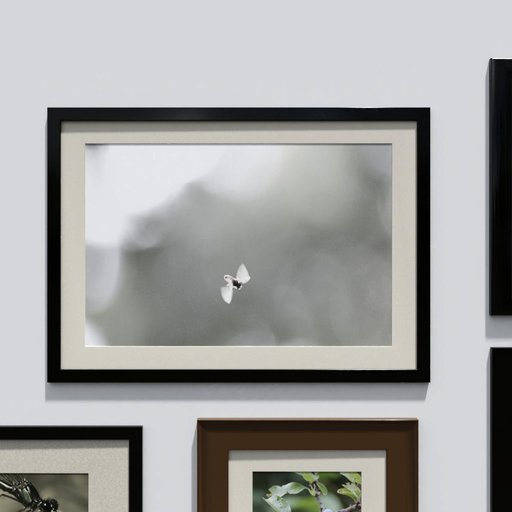 Thumbnail: Photo frame 'anyframe' with a bee