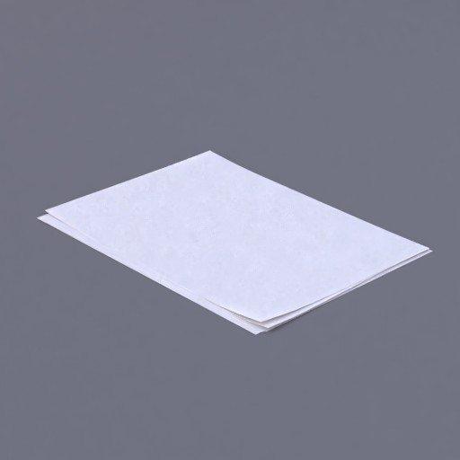 Thumbnail: blank a4 paper pile