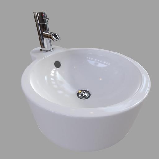 Bathroom Sink Fancy JP01